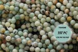 Kamienie Amazonit 4059kp 6mm 1sznur