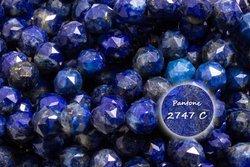 Kamienie Lapis lazuli 2219kp 6mm 1sznur