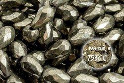 Kamienie Piryt 7345kp 12x8mm 1szt