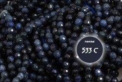 Kamienie Sodalit 5744kp 2mm 1sznur