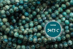 Kamienie Turkus syntetyczny 5704kp 4mm 1sznur