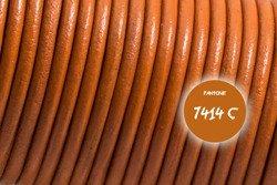 Rzemień skórzany #008 1mm 1m