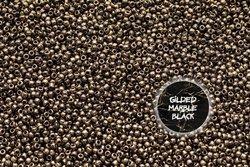 TOHO TR-11-1706 Gilded Marble Black 50g