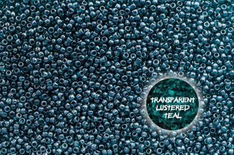 TOHO  TR-11-108BD Trans.Lustered Teal 10g