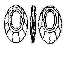 6040-ANTP 30mm 1sztuka