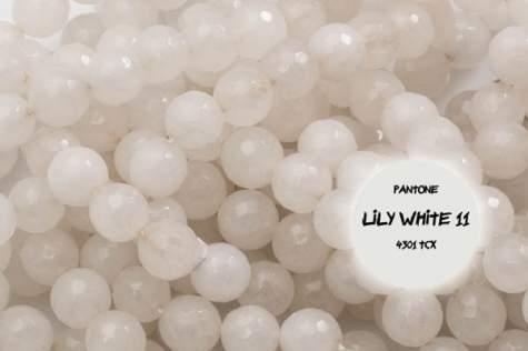 Agat biały 2401kp 12mm 1szt.