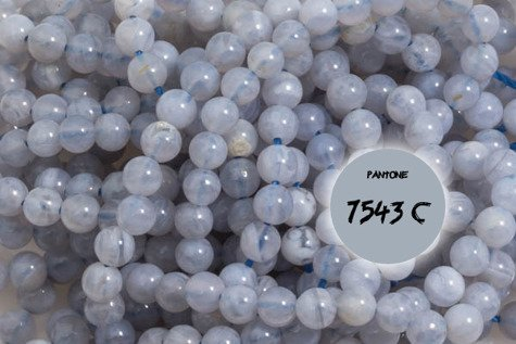 Kamienie Chalcedon 5691kp 3mm 1sznur