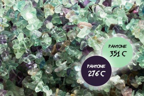 Kamienie Fluoryt sieczka 7276kp 1sznur