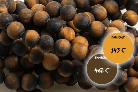 Kamienie Oko tygrysie 5477kp 8mm 1sznur