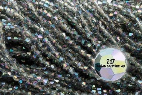 Koraliki Kryształki B493kr 4mm 1szn.