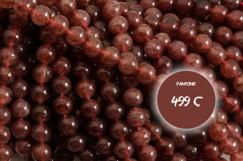 Ruby kwarc B 4956kp 10mm 1sztuka