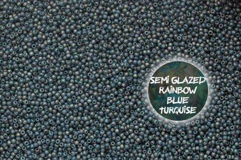 TOHO TR-11-2635F S-Glazed Rain. Blue Turquise 100g