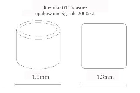 TOHO TT-01-89 Metallic Moss 20g